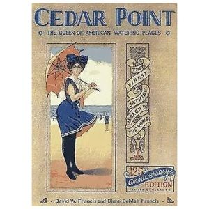 Cedar Point Hardback 125th Anniversary Edition